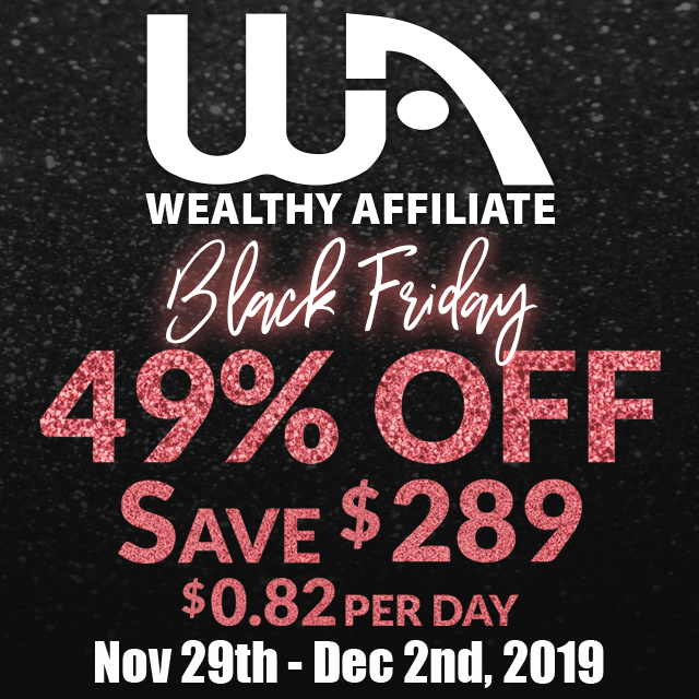 Black Friday Offer 2019